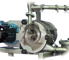 The Kek universal mill provides high-energy, one-pass fine grinding.