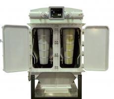 Schenck Process introduces the new vertical cartridge filter.