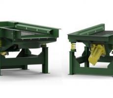 Cleveland Vibrator SF-A air-powered vibratory screeners