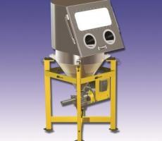 Scaletron's Model VMF-28/CP volumetric feeder with carbon package