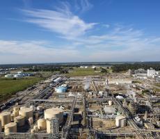 BASF's MDI production facility in Geismar, LA. Image courtesy of BASF