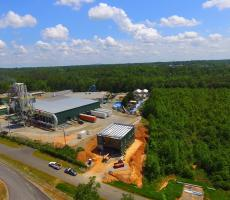 The new Profile Products wood fiber processing facility in Conover, NC. Image courtesy of Profile Products