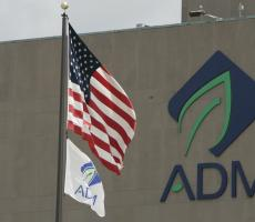 An Archer Daniels Midland Company facility in Illinois. Image courtesy of ADM