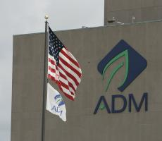 Four workers have tested positive at ADM's corn processing plant in Clinton, IA. Image courtesy of ADM