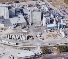 The DuPont Nutrition & Health soy processing plant in Memphis, TN. Image courtesy of Google Earth
