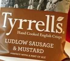 The sale of Amplify to Hershey includes the Tyrrell's brand of potato chips. Image courtesy of Flickr user kalleboo