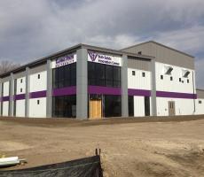 Bulk Solids Innovation Center Under Construction