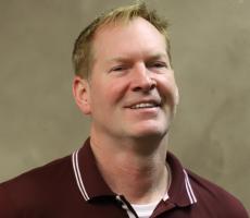 Robert Clausing, lean manufacturing coordinator, Bunting