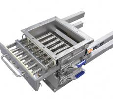 Eriez DSC grate-in-housing magnet