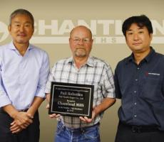 Chantland MHS has been recognized by Fuji Robotics as its top distributor in North America.
