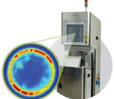 DIR Technologies' flagship Induction Integrity Verification System (I2VS) with thermal image