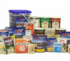 Mountain House brand freeze dried food products. Image courtesy of OFD Foods