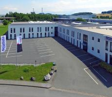 The Bond-Laminates GmbH plant in Brilon, Germany. Image courtesy of LANXESS