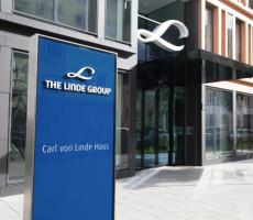 Headquarters of the Linde Group. Image courtesy of Linde