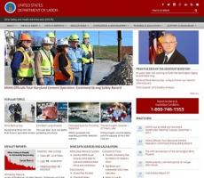 Mine Safety and Health Administration Web Site