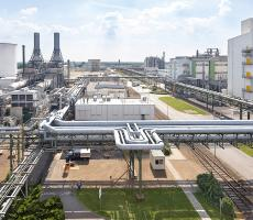 A view of the BASF facility Schwarzheide, Germany, where the company is building a new battery materials production site. Image courtesy of BASF