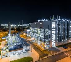 BASF's new world-scale chemical catalysts manufacturing plant in Caojing, Shanghai. Image courtesy of BASF