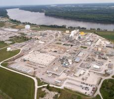 The Hannibal, MO plant where BASF will produce the new fungicide product. Image courtesy of BASF