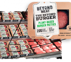 Tyson Foods increased its stake in Beyond Meat, a provider of meatless protein products. Image courtesy of Beyond Meat