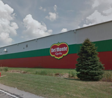 The Del Monte Foods plant in Plymouth, IN. Image courtesy of Google Maps