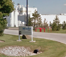 A Mars Canada facility in Bolton, ON. Image courtesy of Google Maps