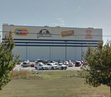 The Unilever ice cream plant in Covington, TN. Image courtesy of Google Maps