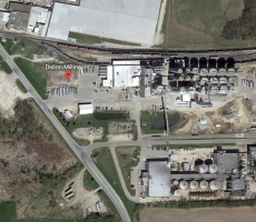 Didion Milling in Cambria, WI. Image courtesy of Google Earth
