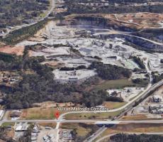 The Vulcan Materials aggregates plant in Stockbridge, GA. Image courtesy of Google Earth