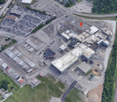 The Fresh Mark plant in Canton, OH. Image courtesy of Google Earth