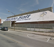 The iconic Morton Salt site on Elston Avenue in Chicago. Image courtesy of Google Maps