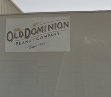 A sign at the Old Dominion Peanut factory in Norfolk, VA. Image courtesy of Google Maps