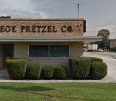 The Wege Pretzel plant in Hanover, PA. Image courtesy of Google Maps
