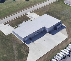 The Mar-Flex Waterproofing and Building Products facility in Carlisle, OH. Image courtesy of Google Earth