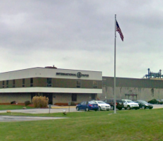 The International Paper plant in North Strabane, PA. Image courtesy of Google Maps