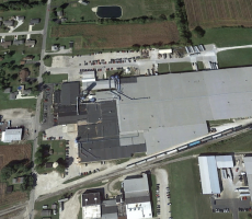 Ameriwood Industries in Tiffin, OH. Image courtesy of Google Earth