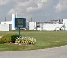 A Nestle ice cream plant in London, ON. Image courtesy of Google Maps