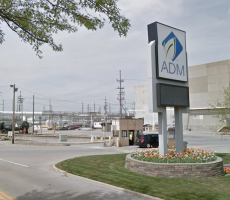 An Archer Daniels Midland (ADM) facility in Decatur, IL. Image courtesy of Google Maps