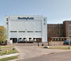 The Smithfield plant in Sioux Falls, SD. Image courtesy of Google Maps
