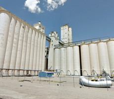 The former ADM Milling plant in Plainview, TX, pictured here, will be renovated into a new facility for Lawley's Inc. Image courtesy of Google Maps