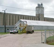 The Interstate Grain port terminal in Corpus Christi, TX. Image courtesy of Google Maps