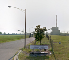 The Lansing Board of Water and Light (BWL) Erickson power plant in Delta Township, MI. Image courtesy of Google Maps