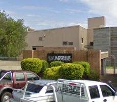 A view of the Nestle powdered beverages plant in Smithtown, NSW, Australia. Image courtesy of Google Maps
