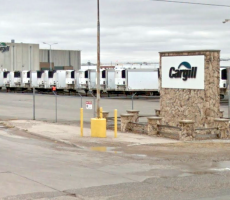 A view of the Cargill beef plant in Dodge City, KS. Image courtesy of Google Maps