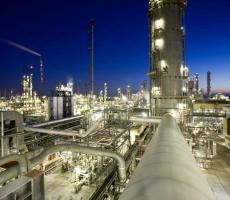 A view of a facility in BASF's Ludwigshafen, Germany chemical manufacturing complex. Image courtesy BASF