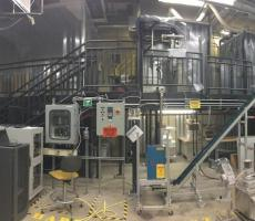 A view of a research area at Purdue University's Center for Particulate Products and Processes (CP3). Image owned by Purdue Engineering
