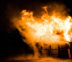 The number of grain dust explosions rose in the U.S. during 2018, a new Purdue report said. Image courtesy of Pixabay