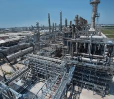 LyondellBasell's La Porte, TX complex where the new facility is under construction. Image courtesy of LyondellBasell