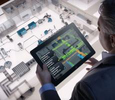 Companies are beginning to harness the power of Big Data. Image courtesy of Siemens