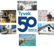 DuPont Protection Solutions announces the 50th anniversary of DuPont Tyvek.
