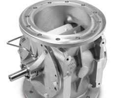 Coperion K-Tron rotary valve type ZRD